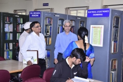 interaction of NBA Committee wit chief librarian