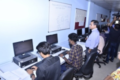 NBA Chairman's visit to ADE lab in CSE Dept