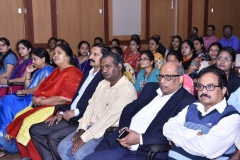 NBA Chairperson interaction with college alumni and there parents